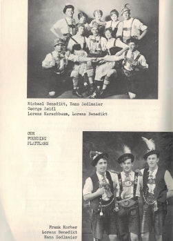 "Highlights from the ""Fahnenweihe & .40 Stiftungsfest - 1963"" Program"