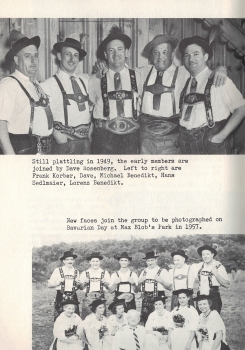 """Highlights from the """"Fahnenweihe & .40 Stiftungsfest - 1963"""" Program"""